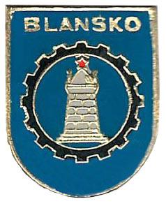 Znak města Blanska – 70. léta