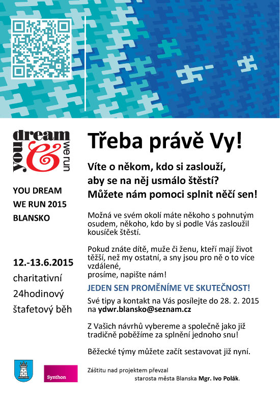 You dream we run – výzva 2015