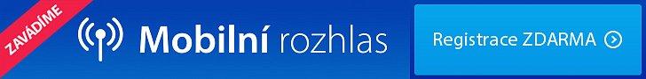 Mobilní rozhlas proBlansko – registrace zdarma