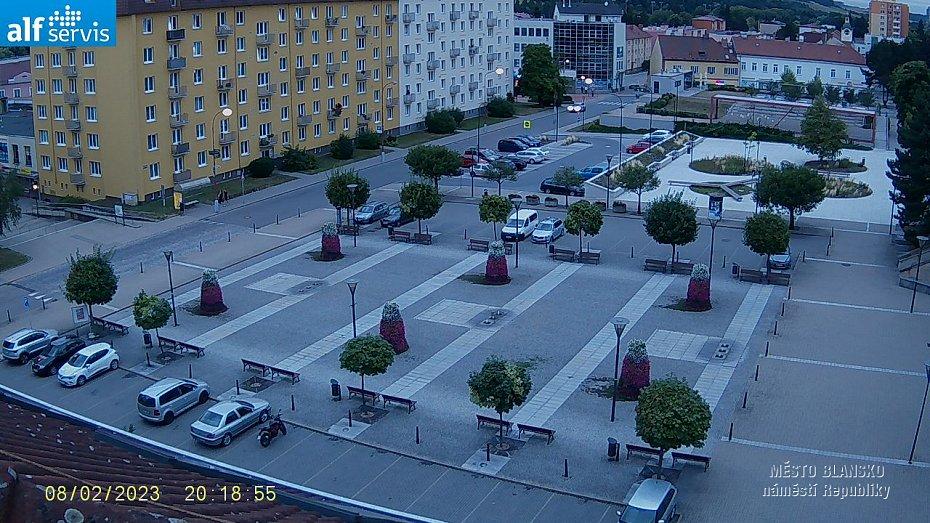webkamera - náměstí Republiky